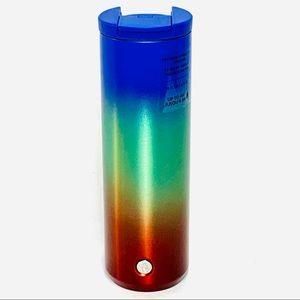 STARBUCKS 2020 Ombré Rainbow Tumbler SS 16oz